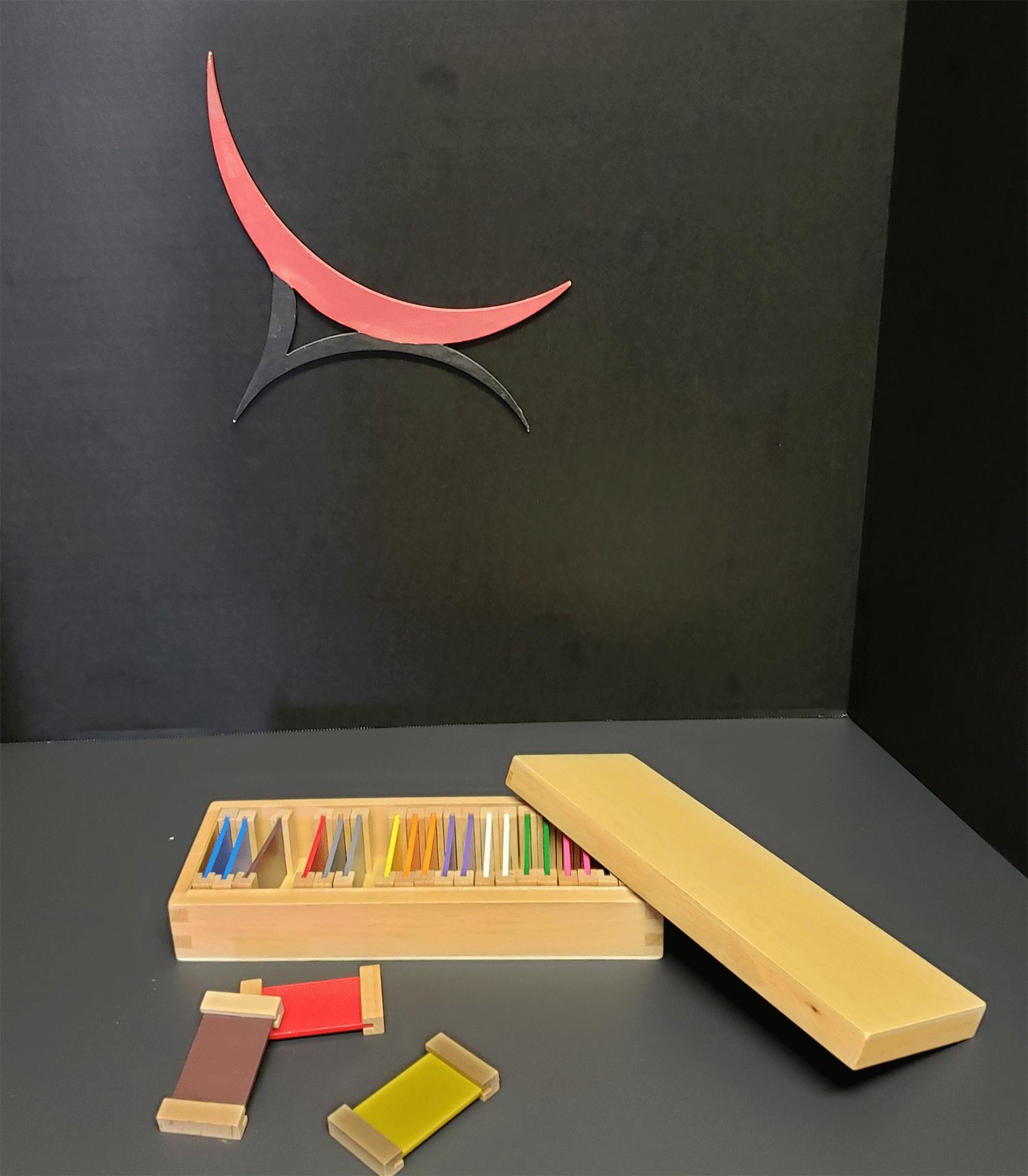 Montessori Color Tablets Wooden Sensorial Materials