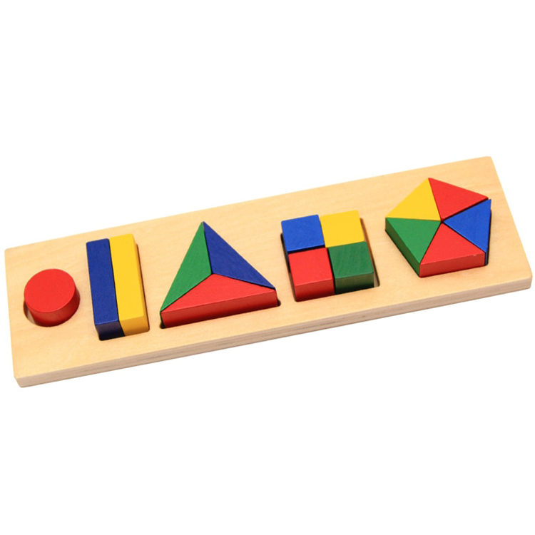 Fractions Geometric Shapes Chunky Geometric Shapes